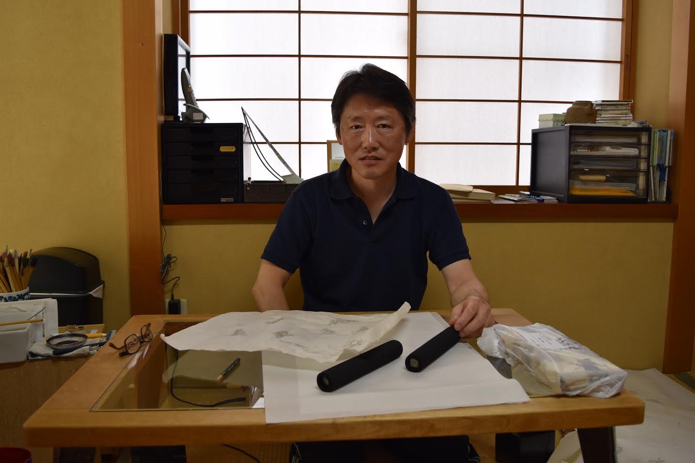 加賀友禅 作家  本 弘実 先生を訪ねて